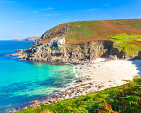 Portheras Cove Cornwall Royalty Free Stock Image