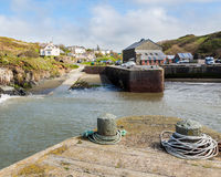Porthgain Pembrokeshire Wales Stock Photography