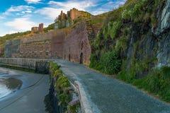 Porthgain, Pembrokeshire, Walia, UK obraz royalty free