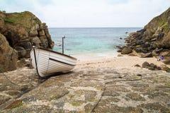 Porthgawwa cornwall uk england Royalty Free Stock Images