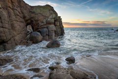 Porthgwarra Cove Stock Images