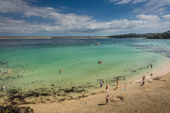 Porthgwidden Beach Royalty Free Stock Images