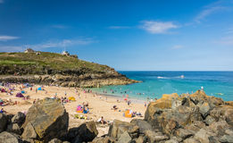 Porthgwidden Beach Royalty Free Stock Images