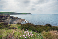 Porthkerris in Cornwall Stock Fotografie