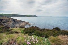 Porthkerris w Cornwall Fotografia Stock
