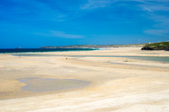 Porthkidney Sands Beach Cornwall England Royalty Free Stock Photo