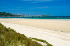 Porthkidney Sands Beach Cornwall England Royalty Free Stock Photos