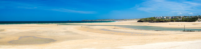 Porthkidney Sands Beach Cornwall England Stock Images
