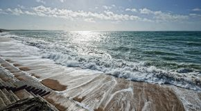Porthleven, Корнуолл Стоковая Фотография RF