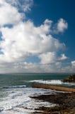 Porthleven Cornwall Arkivbild