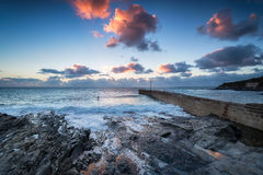 Porthleven in Cornwall Royalty Free Stock Photos