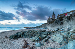 Porthleven in Cornwall Stock Photography