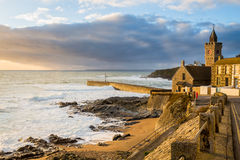 Porthleven Cornwall England UK Royalty Free Stock Photo