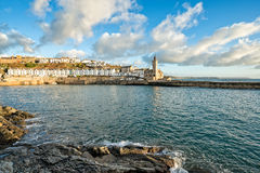 Porthleven in Cornwall Stock Image