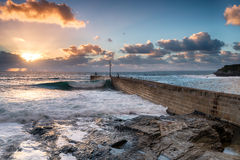 Porthleven in Cornwall Royalty Free Stock Image
