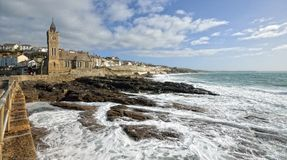 Porthleven, Cornwall Stock Photo