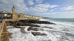 Porthleven, Cornwall stock photo