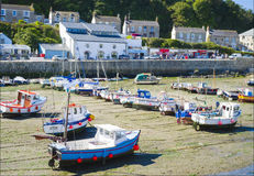 Porthleven Fishing Town, Cornwall, England Royalty Free Stock Photography