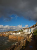 Porthleven Harbour Cornwall. The Cornish village and harbour of Porthleven in South West Cornwall Stock Photos