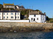 Porthleven Harbour Cornwall England Royalty Free Stock Photos