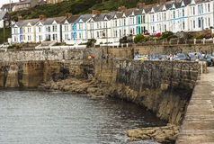 Porthleven harbour in Cornwall Stock Photography