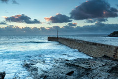 Porthleven harbour Royalty Free Stock Image