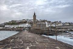 Porthleven-Pier Stockfotografie