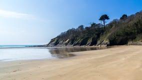 Porthluney Beach Royalty Free Stock Photos