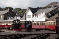 Porthmadog Train Station Royalty Free Stock Photography