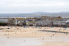 Porthmeor Beach, St Ives Stock Photo