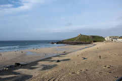 Porthmeor Beach St Ives Royalty Free Stock Images