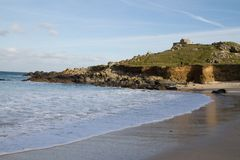 Porthmeor beach St Ives, Cornwall Royalty Free Stock Images