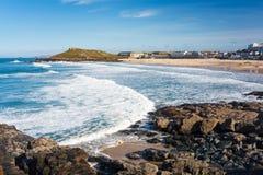 Porthmeor Beach St Ives Cornwall Royalty Free Stock Photo