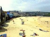 Porthmeor beach, St.Ives, Cornwall. Stock Images