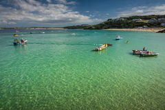Porthminster bay Royalty Free Stock Photos