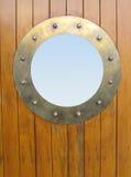 латунный porthole Стоковые Фотографии RF