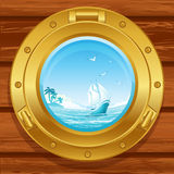 Porthole royalty free illustration