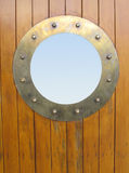 Porthole brass Royalty Free Stock Photos