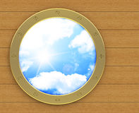 The porthole Royalty Free Stock Photography