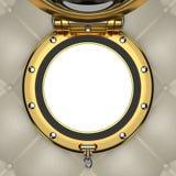 Porthole 3D illustration Stock Images