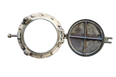 Porthole Isolated On White Stock Image