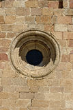 Porthole Romanesque Church of San Pedro, XII century, Avila, Spain Royalty Free Stock Photography