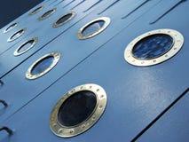 Porthole of ship Royalty Free Stock Image