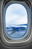 Porthole view inside Royalty Free Stock Photography