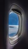 Porthole view inside Stock Image