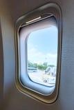 Porthole view inside Royalty Free Stock Images
