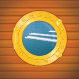 Porthole waverunners Royalty Free Stock Images