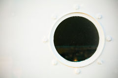 Porthole on White Stock Image