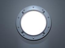 Porthole white Stock Image