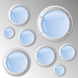 Portholes fantasy Royalty Free Stock Photos